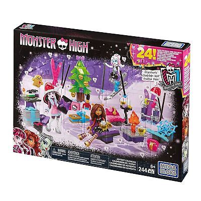 Mega Bloks Monster High 244 Piece Christmas Advent Calendar Build & Collect