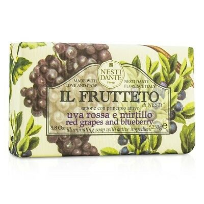 Nesti Dante Il Frutteto Illuminating Soap - Red Grapes & Blueberry 250g Bath