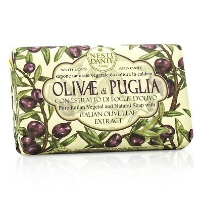 Nesti Dante Natural Soap With Italian Olive Leaf - Olivae Di Puglia 150g Bath