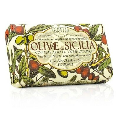 Nesti Dante Natural Soap With Italian Olive Leaf - Olivae Di Sicilia 150g Bath
