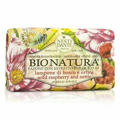 Nesti Dante Bio Natura Sustainable Vegetal Soap - Wild Raspberry & Nettle 250g
