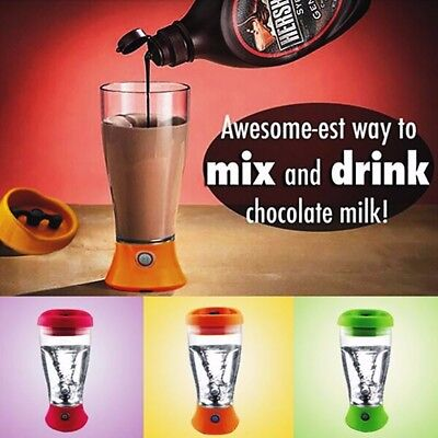 Protein Shaker Mixer Bottle Cup Quality Electric Tornado Nutrition 350ml