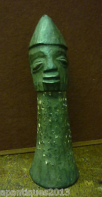 Unusual 19th Century African Tribal Fertility Carving
