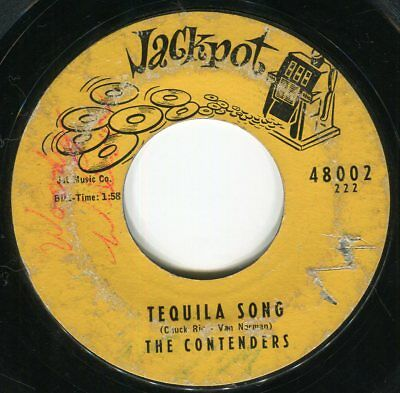The CONTENDERS tequila song 45 rare R&B ROCKER popcorn MOD dancer HEAR ♬