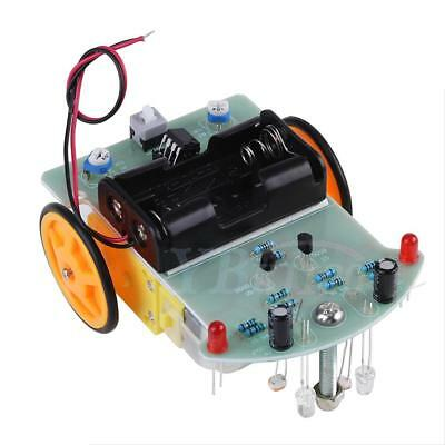 Smart Car Tracking Robot Car Chassis DIY Kit w/ Reduction Motor Set For Arduino