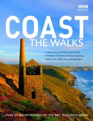 Coast: The Walks by Various, BBC Books, Acceptable Book (Paperback) Fast & FREE