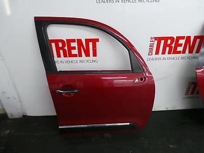 2011 CITROEN C3 PICASSO 5 Door MPV Red O/S Drivers Right Front Door (Tag 455728)