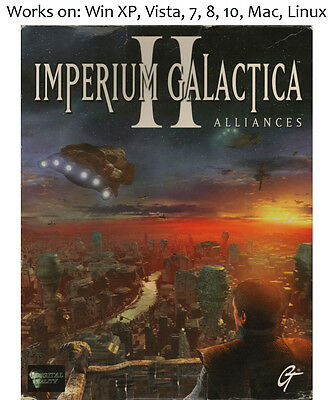 Imperium Galactica II 2 Alliances PC Mac Linux Game 1999 Windows XP Vista 7 8 10