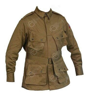 US Army Olive Drab Airborne M1942 Jacket - All Sizes - Non Reinforced Version