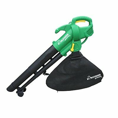 Green Landscape Garden Blower VAC Vacuum Leaves Leaf Tidy Clean Removal Pro DIY