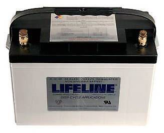 GPL-27T Lifeline AGM Batterie