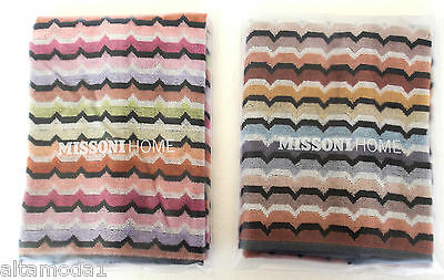 Missoni Home Gift Packaging Omar Two Hand Towels  Due Asciugamani Ospiti