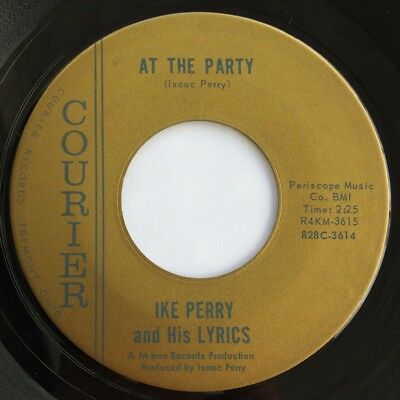 Ike PERRY at the party 45 killer R&B MOD rocker POPCORN northern soul HEAR ♬