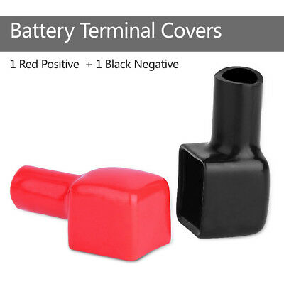 2x Positive & Negative Battery Terminal Boots Insulation Cover OEM 192681 192682
