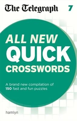 The Telegraph: All New Quick Crosswords 7 (The Telegraph Puzzle B...