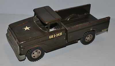 - TONKA ARMY MILITARY Troop Carrier 1960s GR-2-2431 -