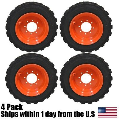 12 Ply 12-16.5 Skid Steer Tires Fit BobCat 825 843 853 863 873 S220 S250 S300