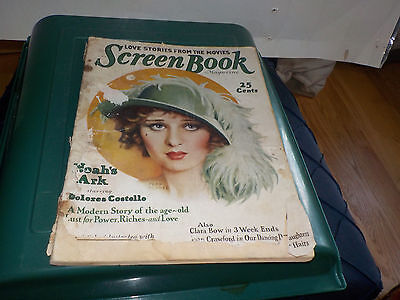 SCREEN BOOK MAGAZINE  March 1929 LAST CALL VINTAGE