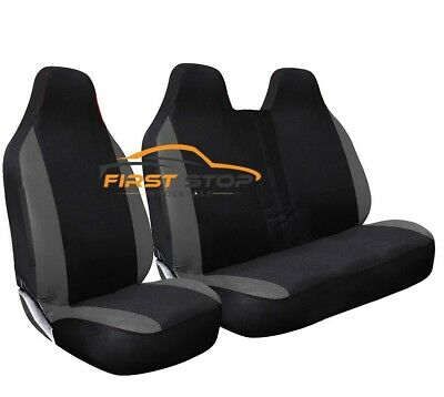 Peugeot Expert Hdi Deluxe Grey Racing Van Seat Covers 2+1