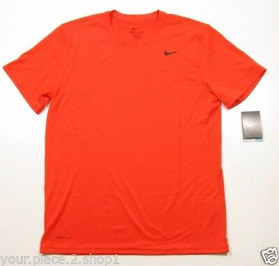 Nike Legend Dri-Fit Men's Orange Training T-Shirt 718833-891