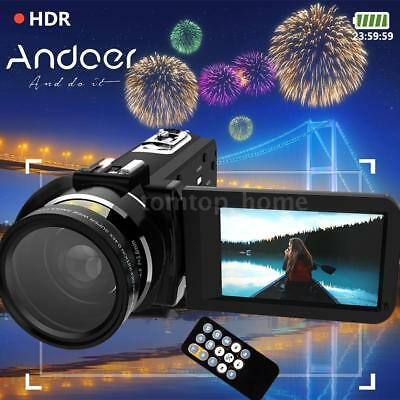 WiFi HD 1080P 24MP 16X ZOOM Professional Digital Video Camera DV Camcorder R2L6