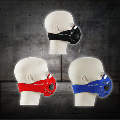 Workout Training Fitness Mask MMA High Altitude Simulation