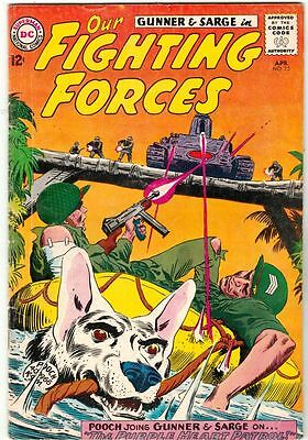 Our Fighting Forces #75 strict FN- 6.0     Appearance - Frogman story