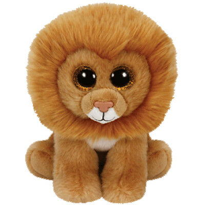 TY Classic Plush - LOUIE the Lion (9.5 inch) - MWMT's - Stuffed Animal Toy