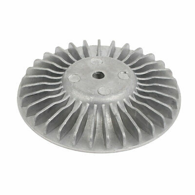 80mm Dia 14mm Thickness Metal Machine Wheel Roller Silver Tone