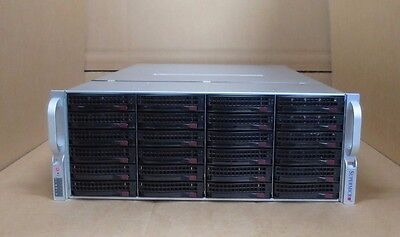 Supermicro SuperChassis CSE-847 72TB Rack Mount Storage Server 2x 8-Core XEON