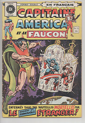 CAPTAIN AMERICA #11 french comic français EDITIONS HERITAGE (1972)
