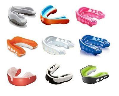 SHOCK DOCTOR MOUTH GUARDS - Fitness, Teeth, Protection, Gum, Sports, Case, Gym