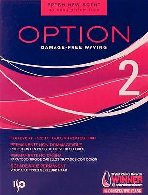 ISO OPTION 2 Perm Kit - Every Type Of Coloured Hair Damage Free - SPIRAL CURLS