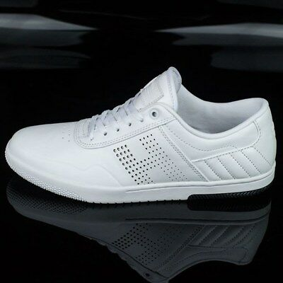 Huf Hufnagel Pro2 White Leather Shoes - Bargain Clearance!