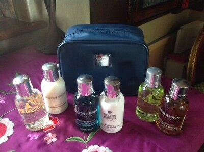 Molton Brown Women's  Stowaway Travel Gift Set Case & 6 X 100ml Products