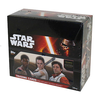 Topps Trading Cards - Star Wars The Force Awakens Series 1 - BOX (24 Packs) New