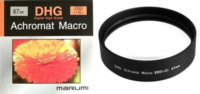 Marumi 67mm 67 DHG Macro +5 200 Achromat Achromatic Close up Lens made in Japan