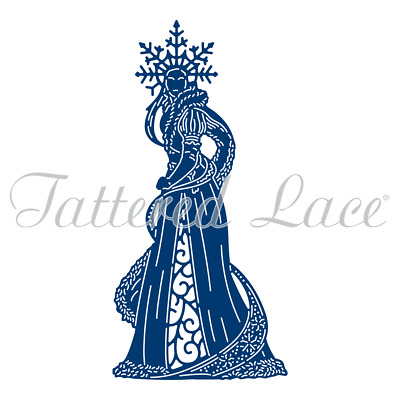 Tattered Lace Stanze - Schnee Prinzessin - tld0541