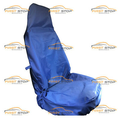Peugeot Expert 07-On Hdi Single Heavy Duty Blue Waterproof Van Seat Cover