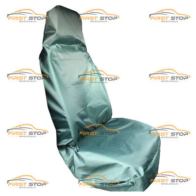 Peugeot Expert Hdi Single Heavy Duty Green Waterproof Van Seat Cover