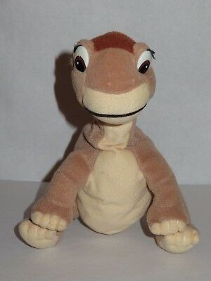 HTF The Land Before Time Littlefoot Flop-a-Saurus Beanbag Plush 1996 Equity Toys