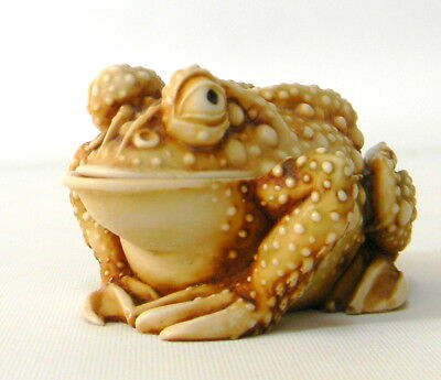 Harmony Kingdom Frog Treasure Jest Princely Thoughts Retired