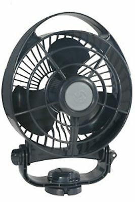 "Boat Marine RV Fan 6"" 12 Volt DC Bora 3 Speed Fan Touch Control Life Long Motor"