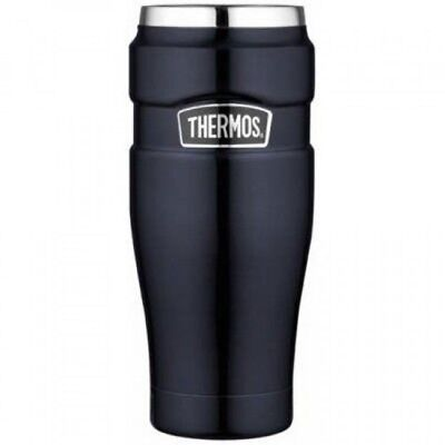 Thermos Stainless King 16Ounce Travel Tumbler, Midnight Blue