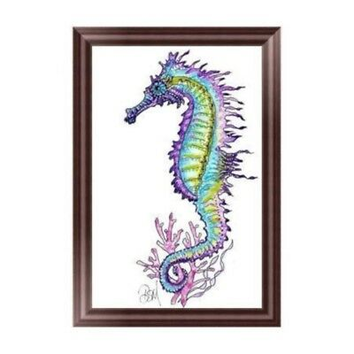 Sea Horse 5D Diamond Embroidery Painting Cross Stitch DIY Craft Home Decor