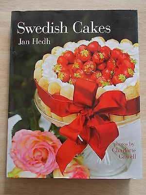 Swedish Cakes~Jan Hedh~Recipes~Cookbook~240pp HBWC~2012