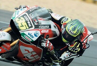 Cal CRUTCHLOW 2017 SIGNED Autograph Photo 2 AFTAL COA LCR Honda Racing Team