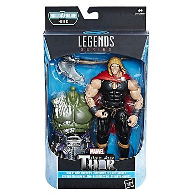 Marvel Thor Legends Series 6-Inch Nine Realms Warriors Odinson Figure