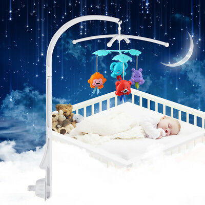 ABS Baby Crib Mobile Bed Bell Holder Arm Bracket For BoxBell Hanging Decoration