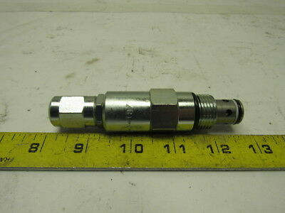 Vickers RV1-10-C-0-18 Direct Acting Poppet Relief Cartridge Valve 3000 PSI